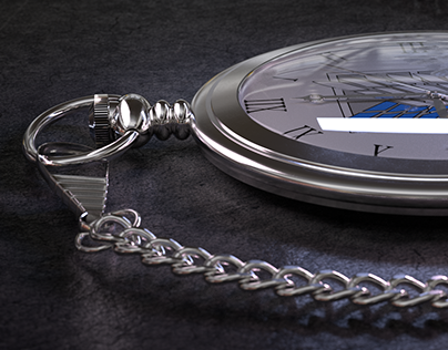 Pocket watch texturing and rendering