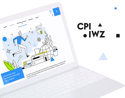 CPI/IWZ - Illustration, Web design & Web development