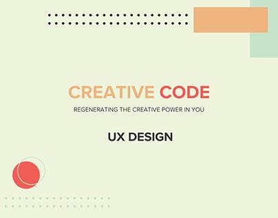 Creative Code I UX Design