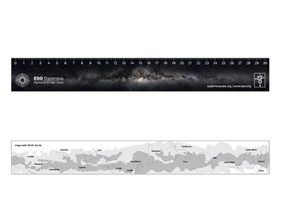 ESO Supernova - Milky Way Ruler (double sided)