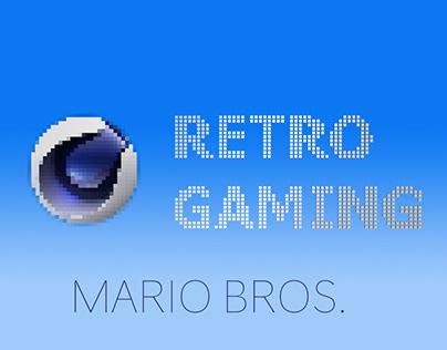 Cinema 4D Retro Gaming - Mario Bros - Xpresso & Python