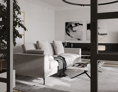 LIVING ROOM | CGI​​​​​​​