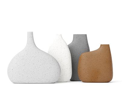 Ceramic set #04   C4d+Corona   3d Model