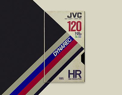 VHS JVC Dynarec T120