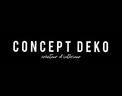 Concept Deko - Identité Graphique et Site Internet