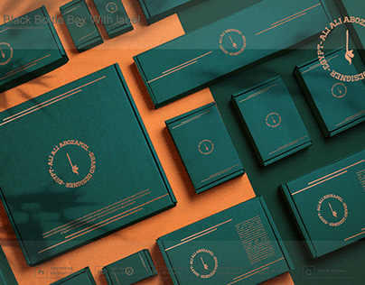 DIFFERIENT OF BOXES ISOMETRIC MOCKUPS