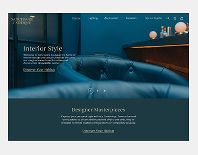 Ecommerce Furniture Site
