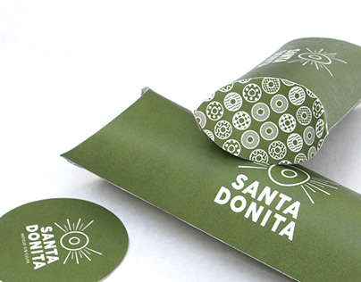 Santa Donita - Take Away Packaging
