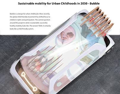 Bubble- Michelin design challenge 2020