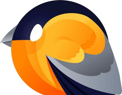DataFinch Technologies Logo Design