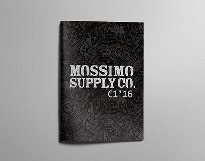 Mossimo Supply Boys - collection concept booklet