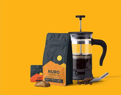 NURO Coffee Co. Branding & Packaging
