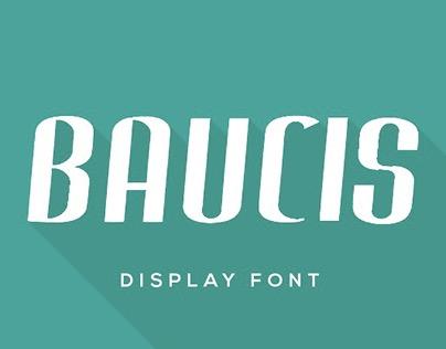 Baucis Display Font