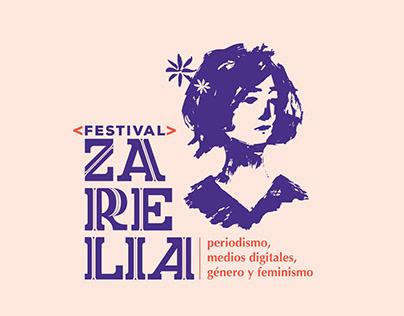 Festival Zarelia Marca ilustrada