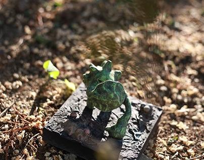 Golem Warriors Art toy  Concept Photo