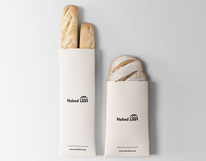 Сorporate identity for the company Naked Loaf