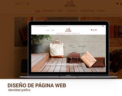 Sitio Web - Dcano