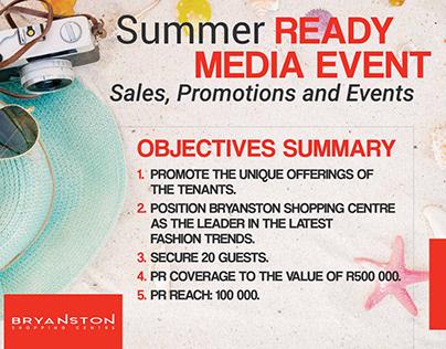 Bryanston Shopping Centre Summer Ready Case Study