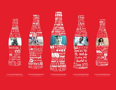 Coca-Cola 'Choose Happiness' digital signage