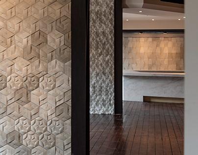 RICH ART   interior wall