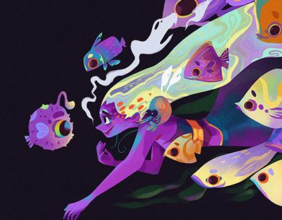 Fish Lilac
