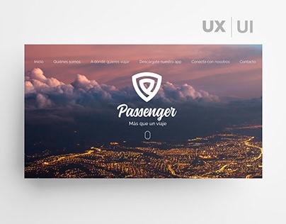 Passenger / Diseño web