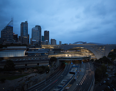 The new Sydney Modern in Sydney - Kengo Kuma