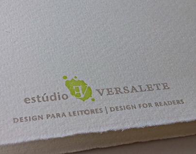 Logo and collateral // Estúdio Versalete
