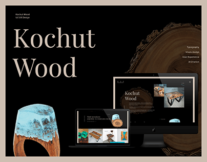 Kochut Wood - UI/UX Design 2019 - Luxury Furniture Shop