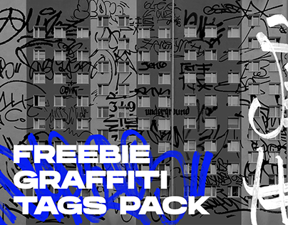 free GRAFFITI TAGS png pack