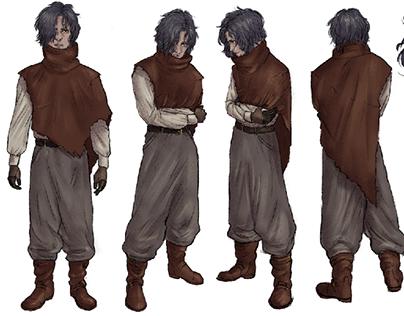 Lance Character Sheets