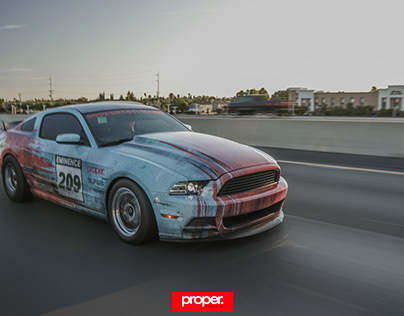 Eminence Wrap Shop Ford Mustang