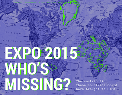 Expo 2015, who's missing?