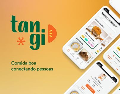 Tangi - App de receitas vegetarianas e veganas