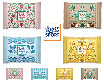 Ritter Sport Limited Edition Packaging Design