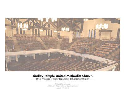 Tindley Temple Enhancement Project Adaptive Reuse