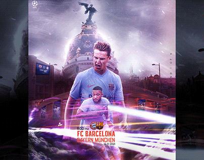Fc Barcelona - Bayern München | UEFA 2021 |