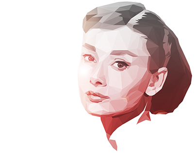 Low poly Audrey