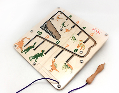 Dino Maze - Learn Counting!