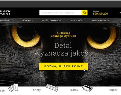 Black Point - Web design