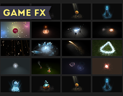 Game FX reel 2015