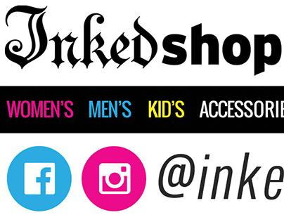 Inked Shop Card Set
