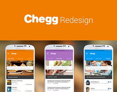 Chegg Redesign