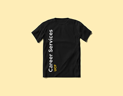 Career Services T-Shirt and Stickers
