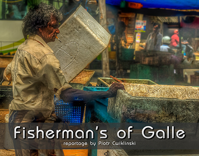 Fisherman's of Galle