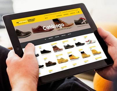 Oxigeno Shoes - Diseño Web en WordPress