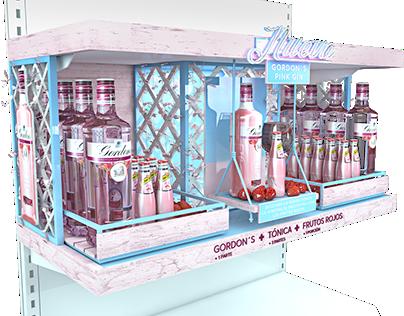 PLATAFORMA GORDON`S PINK