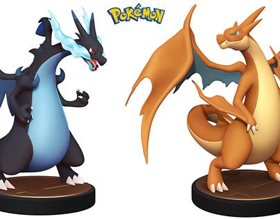 Pokemon Charizard Sculpts