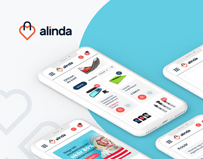 Alinda visual identity & e-commerce website