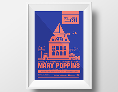 Mary Poppins Theatre Poster Series